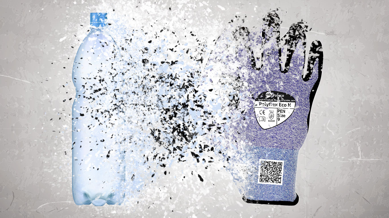 Polyflex® Eco from Bottles to Gloves