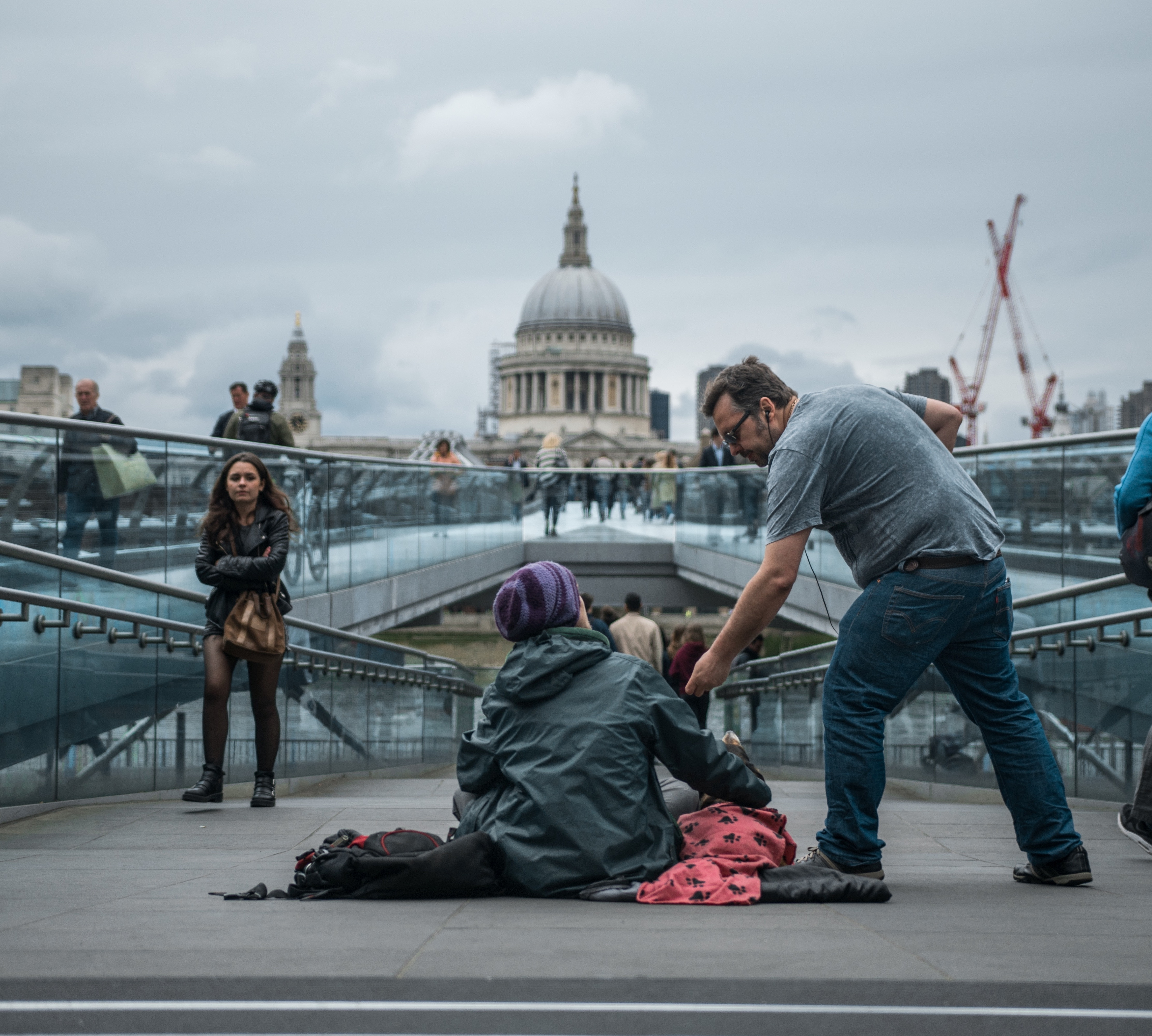 Polyco Healthline join forces with homeless charity, The House of St Barnabas