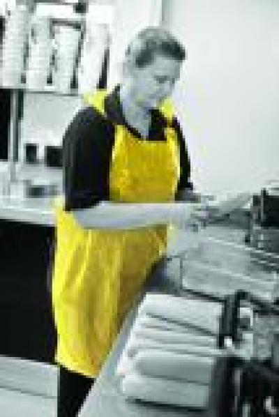 BTB018_BTB_Heavy_Duty_Aprons_on_a_rolls_Yellow_Action_Food_Portrait_1.jpg